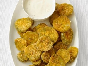 http://www.foodnetwork.com/recipes/food-network-kitchens/fried-pickles-recipe.html