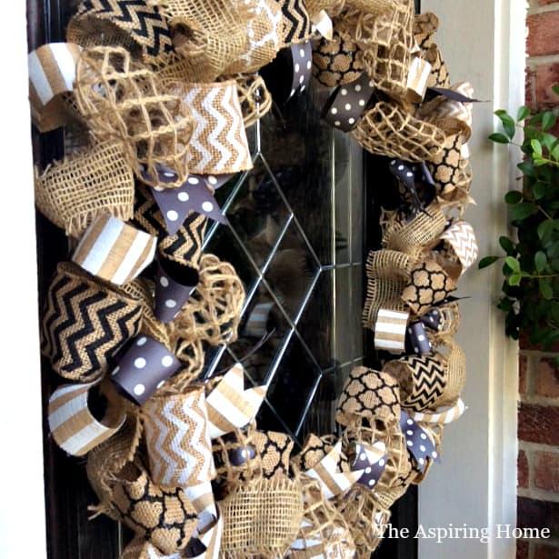 Style 1 plain and simple wreath