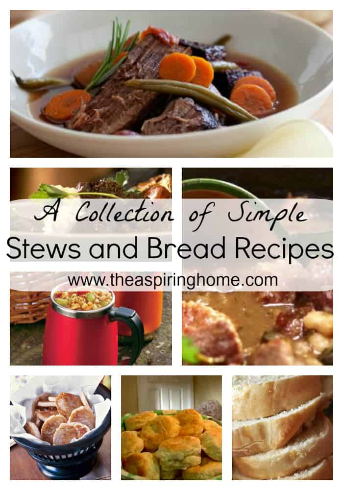 A collection of simple stews perfect for cooler temps