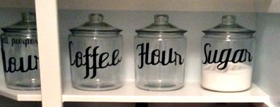the aspiring home storage jars pantry makeover details