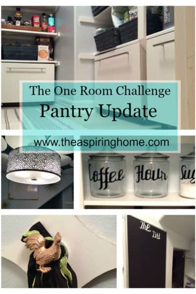 The Aspiring Home ORC Pantry Update