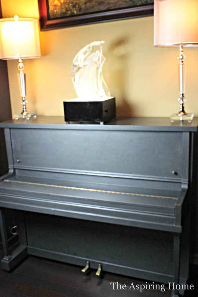 Modern Masters Paint Piano Makeover