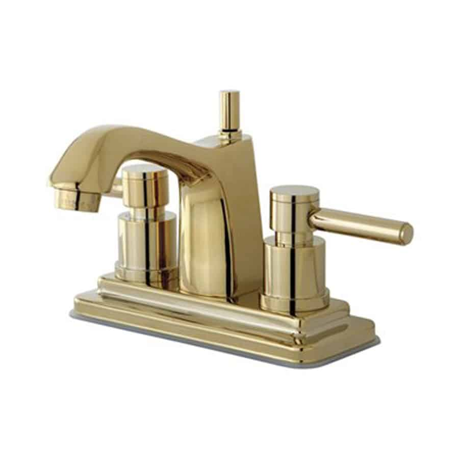 powder room update faucet switch