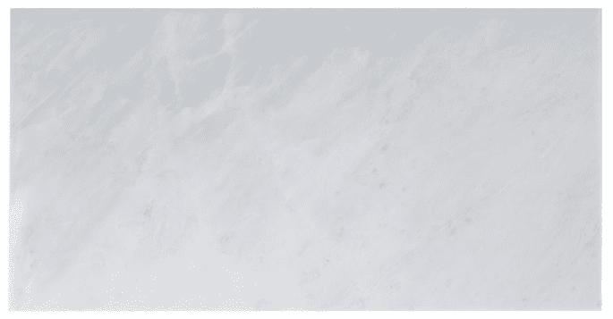 Carrera marble shelves for powder room design