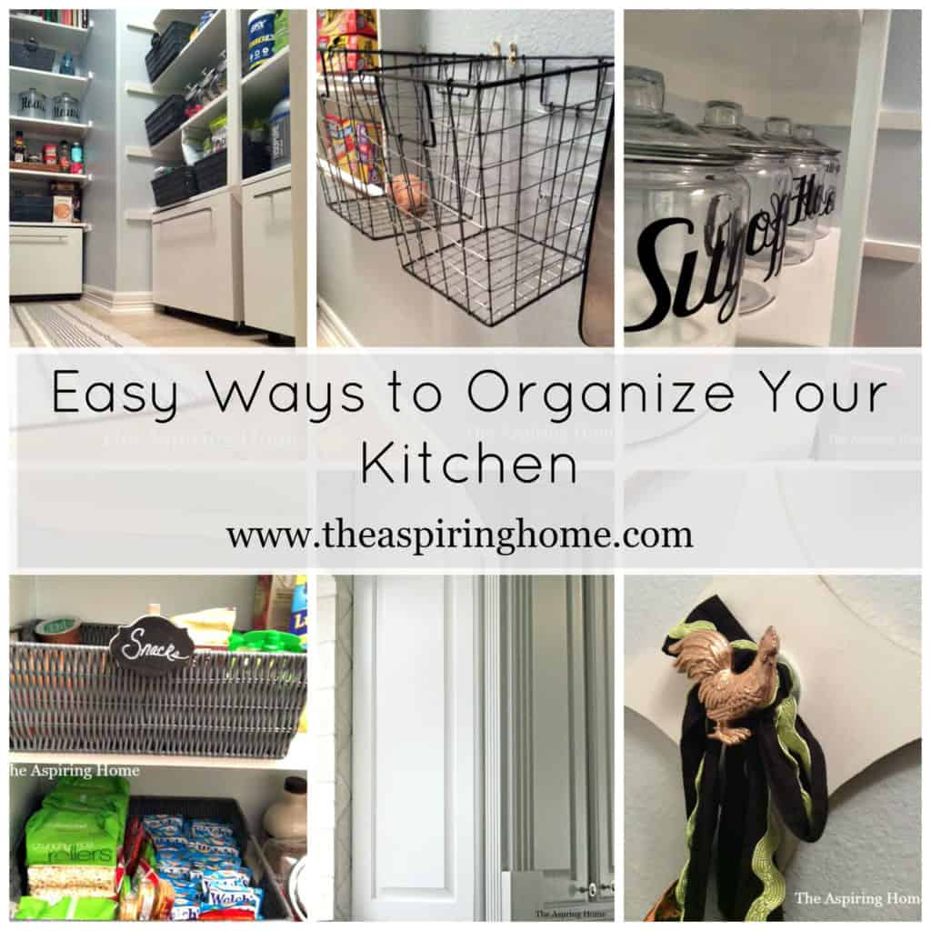Clear Kitchen Clutter The Aspiring Home
