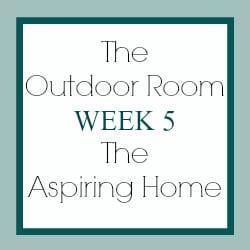 outdoor room challenge week 5
