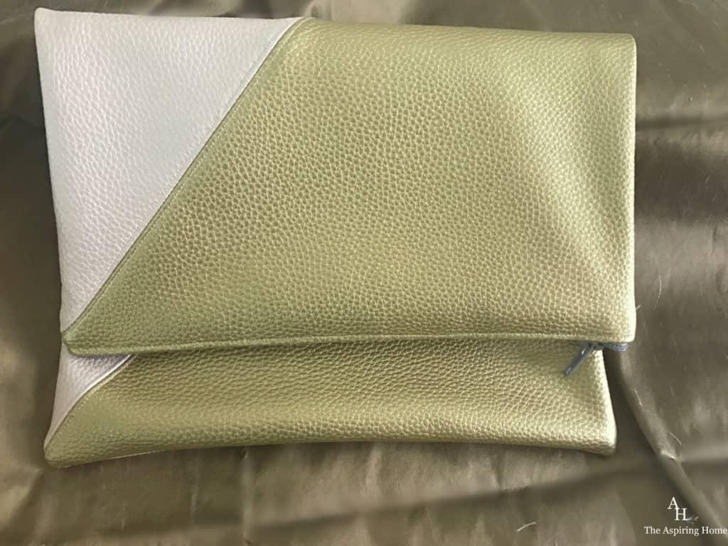 quick sew DIY handbag double sided