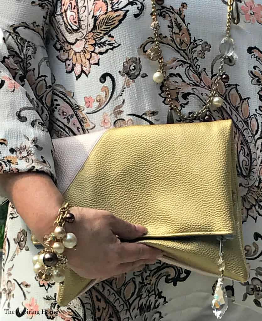 quick sew DIY handbag The Aspiring Home