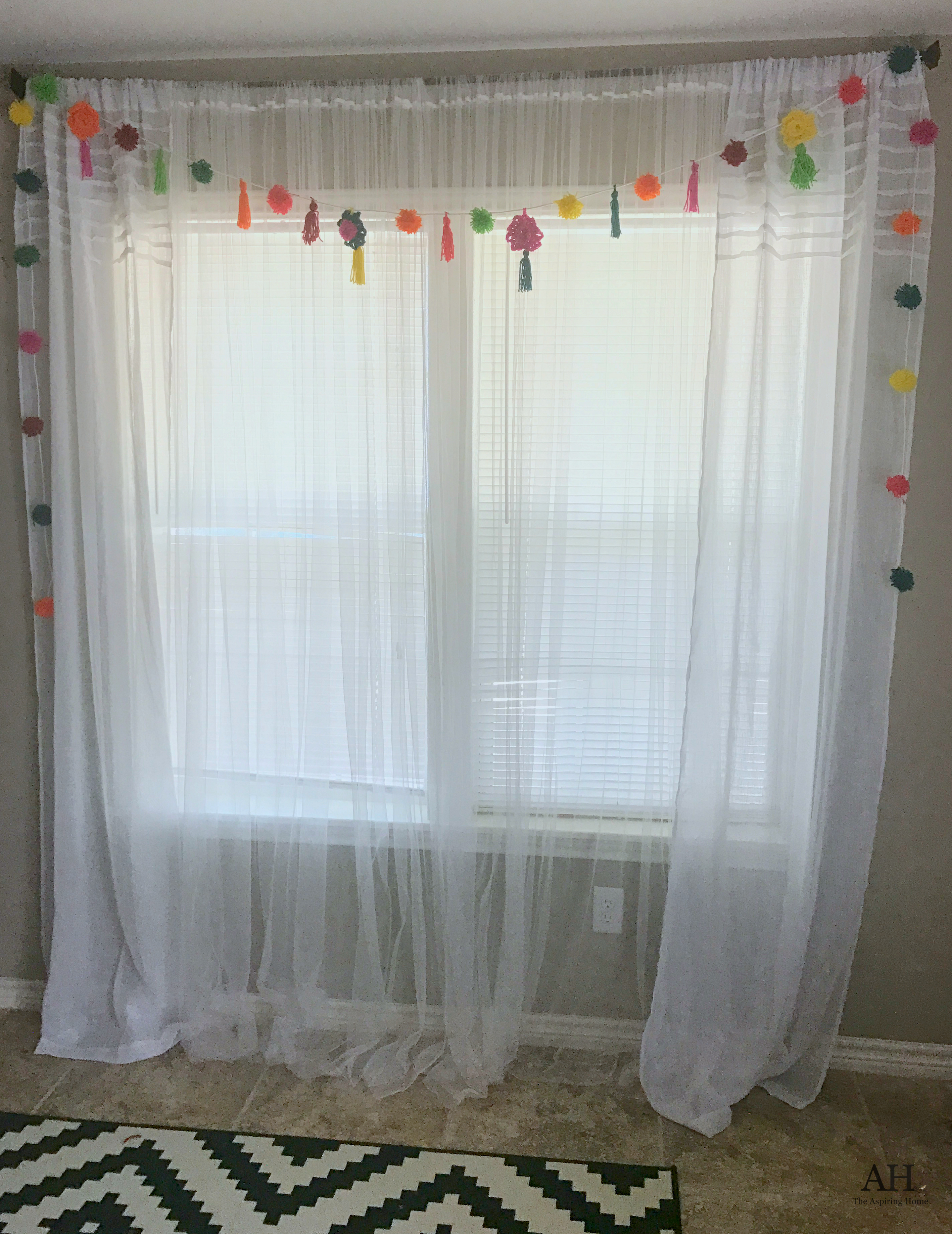 Swag Curtain Tutorial Review Home Co