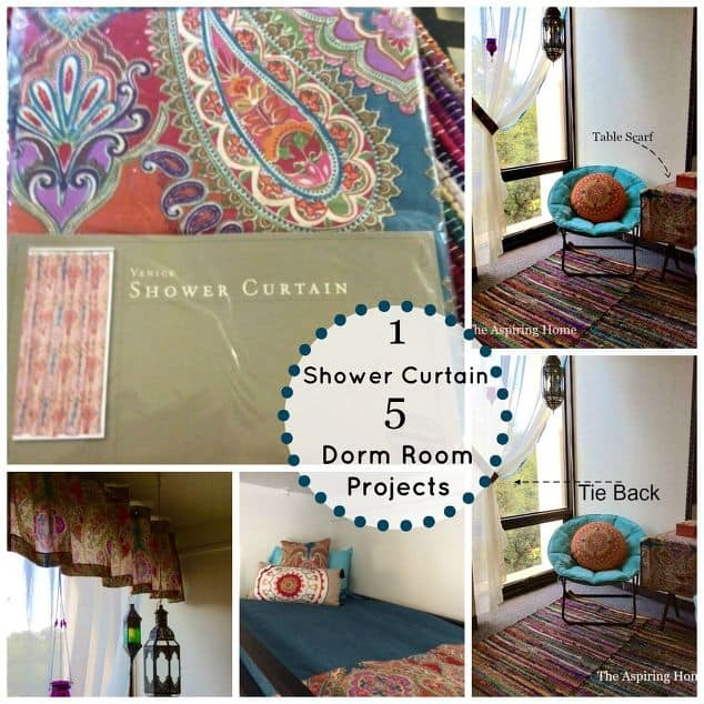 shower curtain easy projects