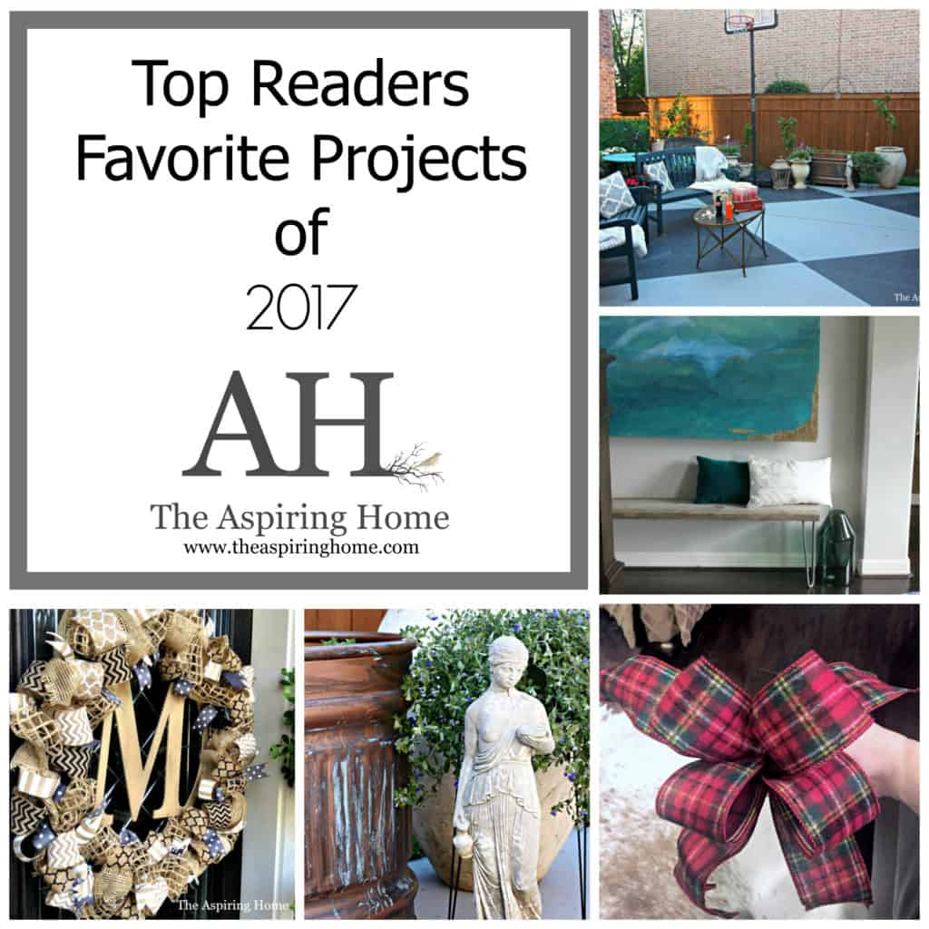 Top Projects of 2017 The Aspiring Home