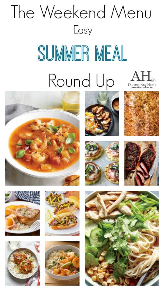 easy summer meal roundup