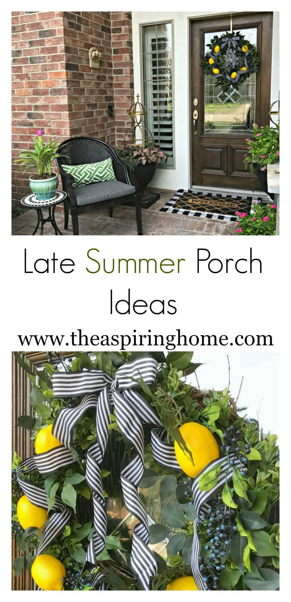 Late Summer Porch Ideas