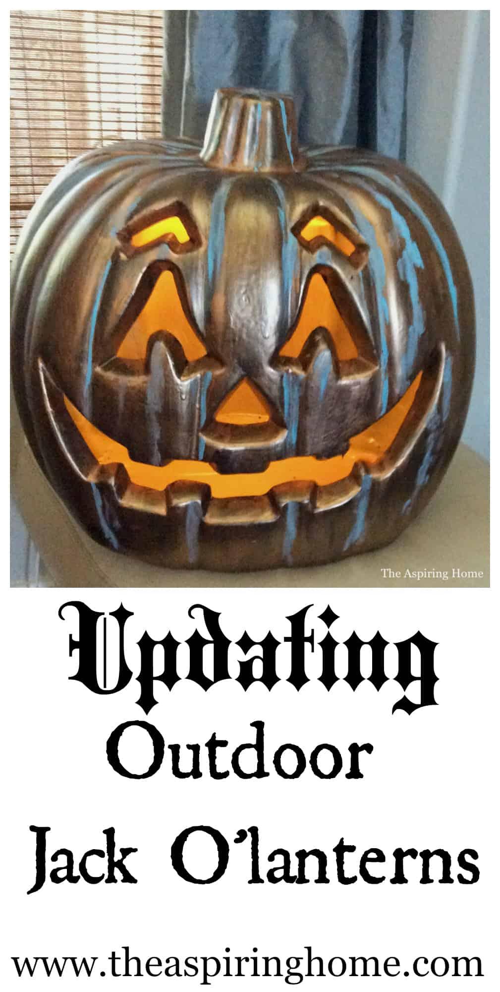 Updating Outdoor Jack O' lanterns pin