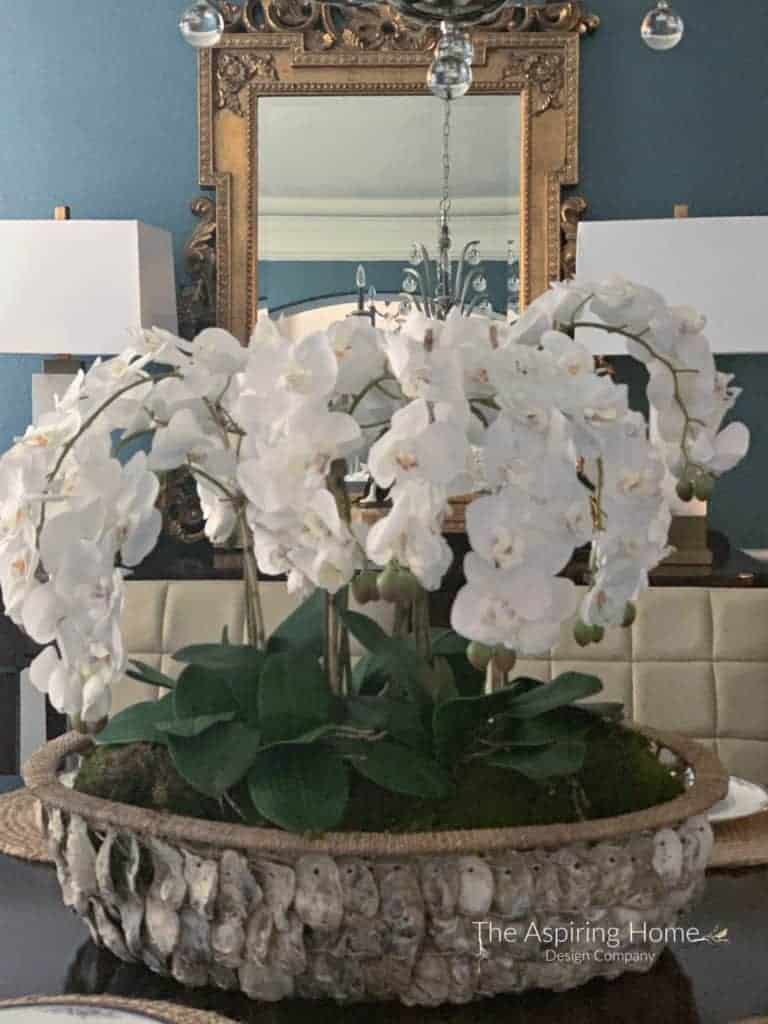 finished project easy dIY orchid arrangement