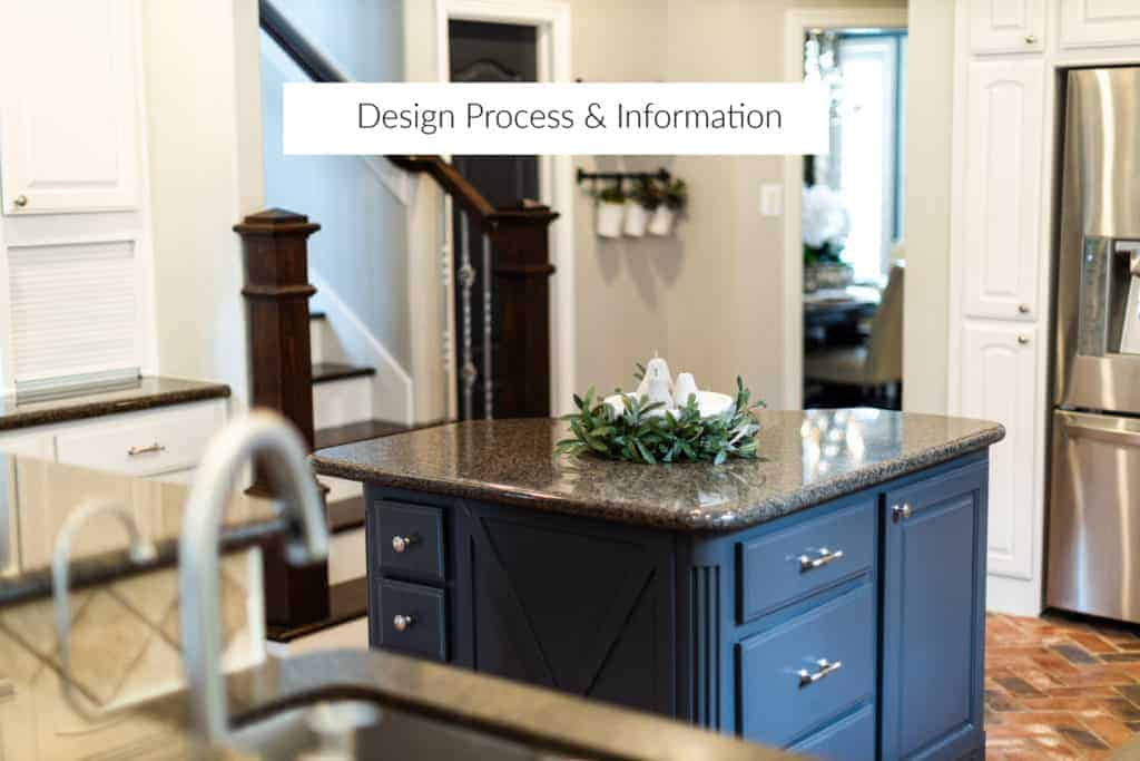 design process and information for The Aspiring Home