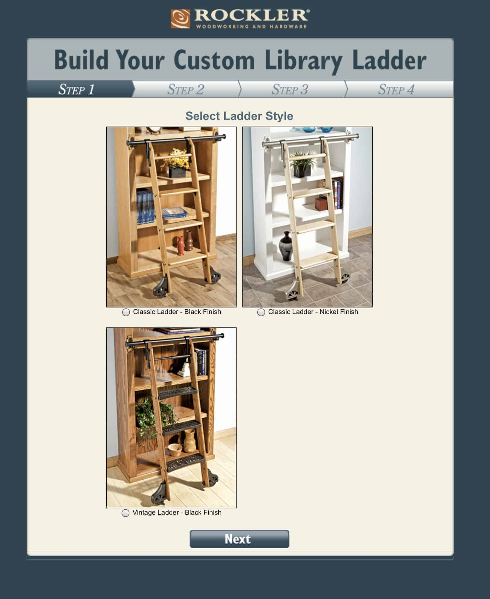 How To Build And Install The Rockler Library Ladder Kit The Aspiring Home