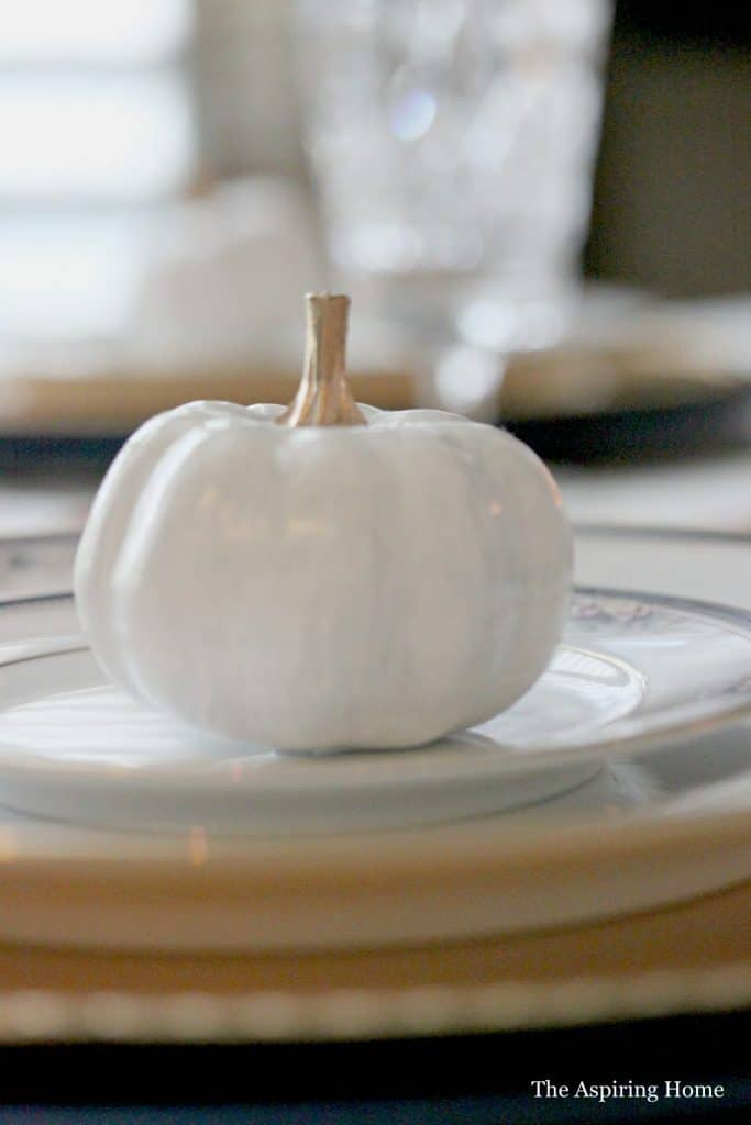 9 Easy Ways You Can Decorate For The Fall Season pumpkin place setting