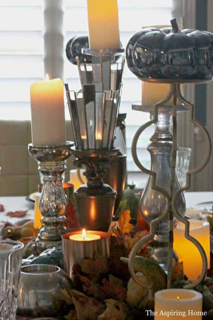9 Easy Ways You Can Decorate For The Fall Season add candles