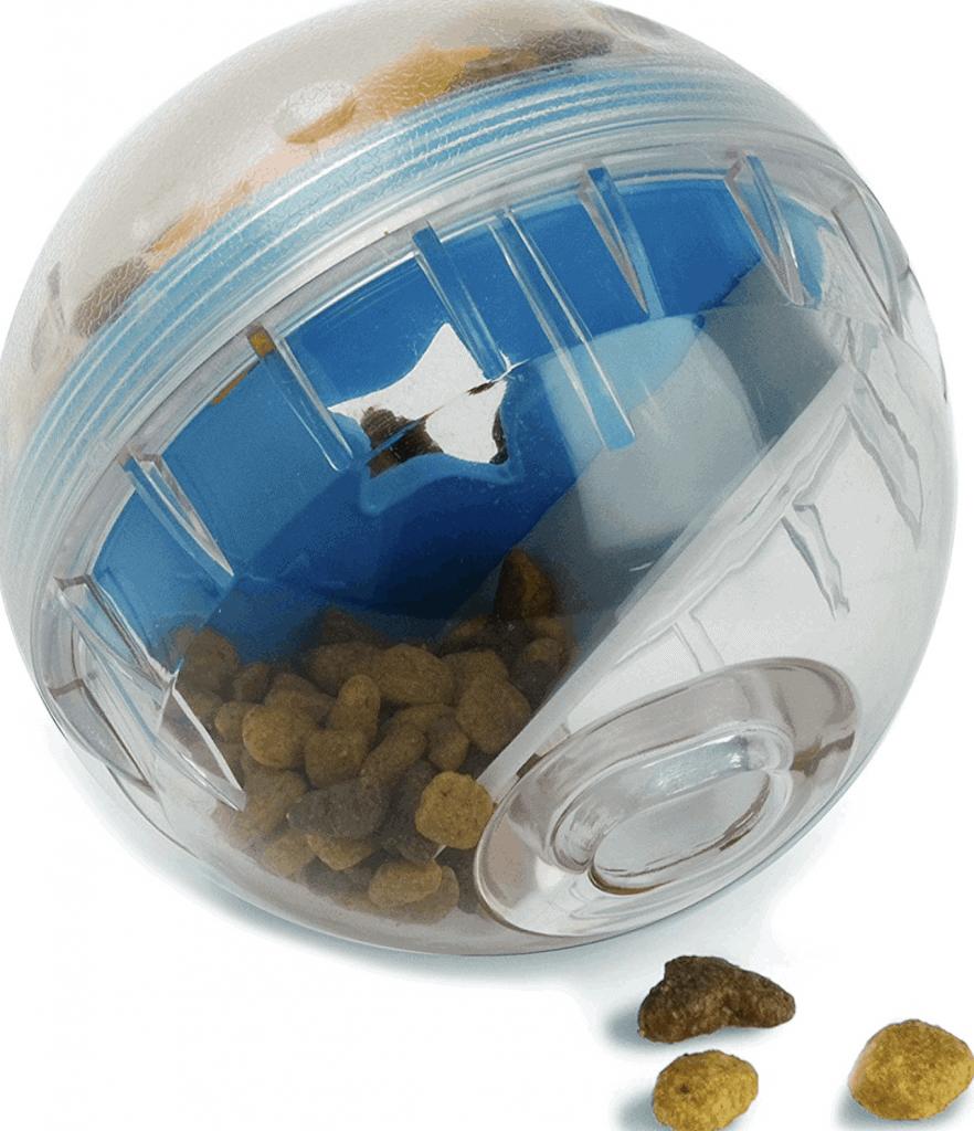 dog treat ball toy