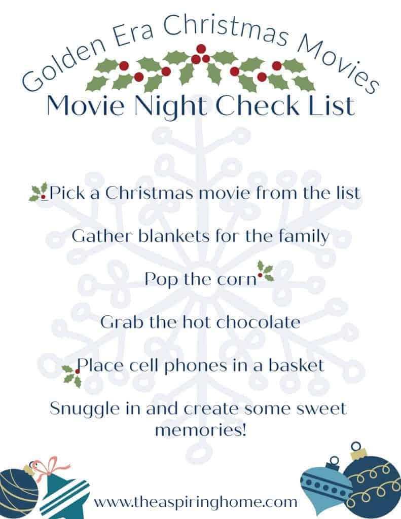 Christmas movie must watch
