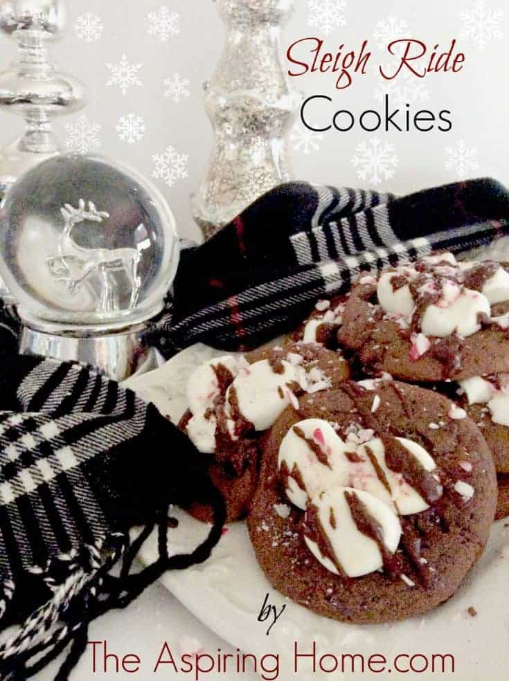 Sleigh Ride Chocolate Christmas Cookies