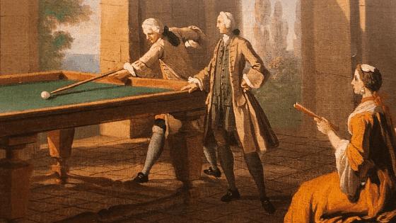 what's a billiard room? Week 2 update historical rendering