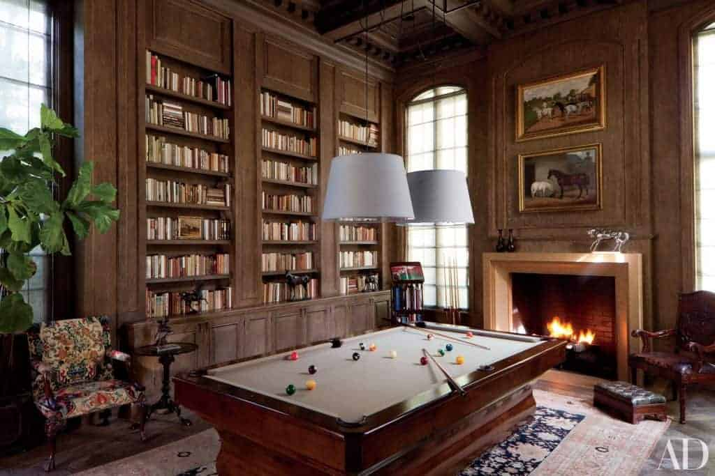 billiard room update inspirational photo