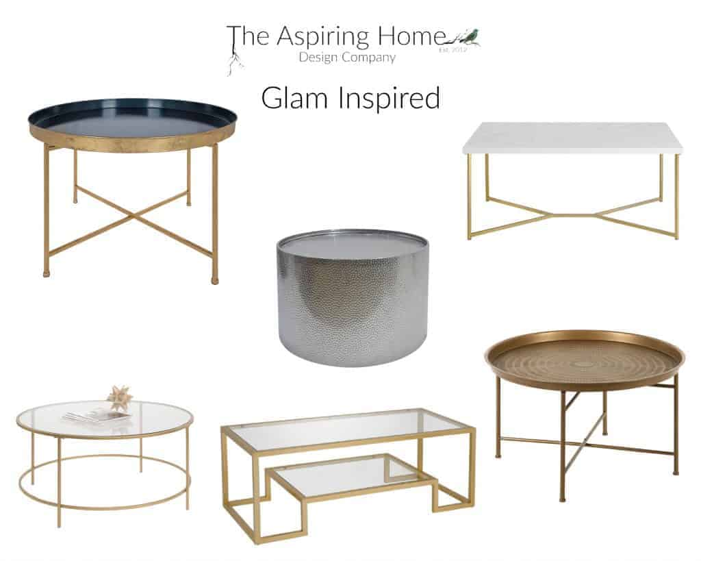 17 coffee tables under $150 Glam inspired The Aspiring Home