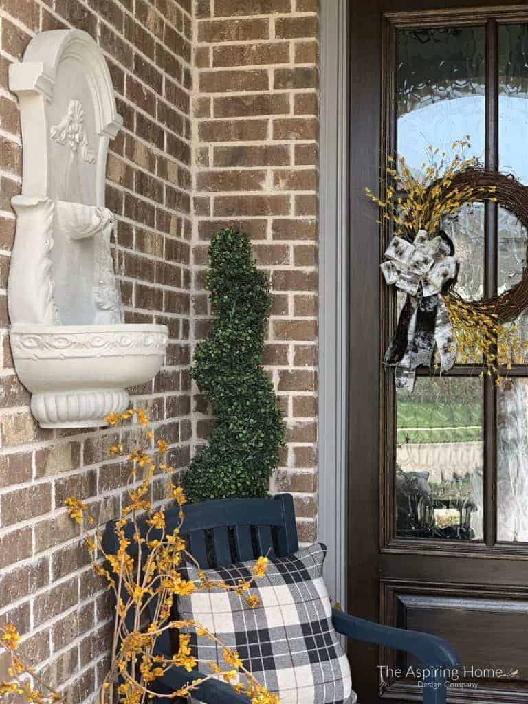 easy outdoor fountain update