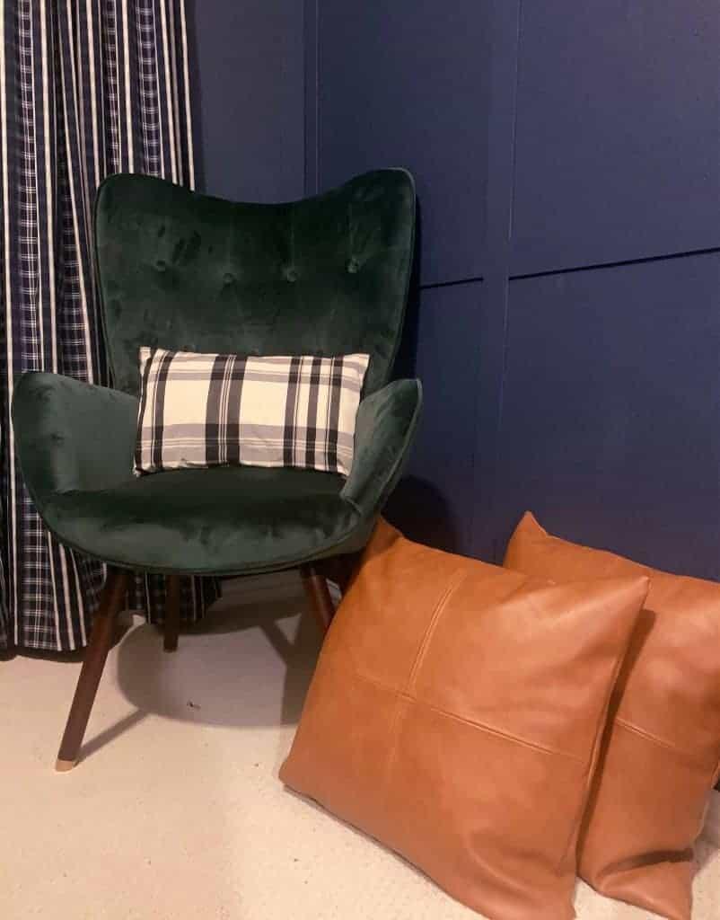 green chair inspiration