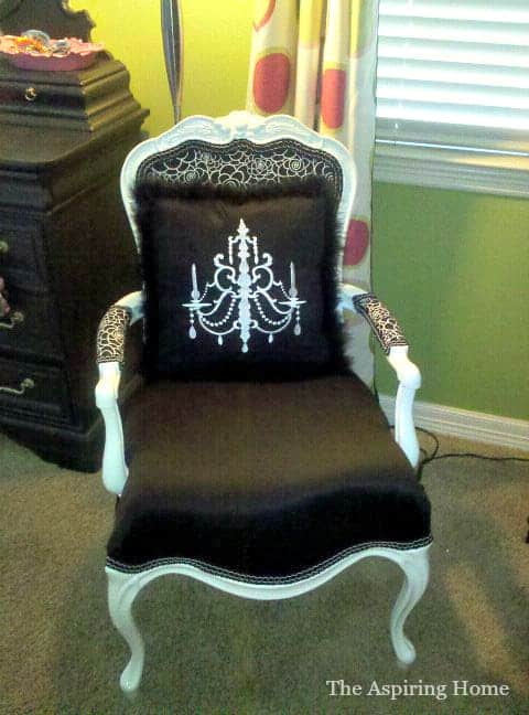 DIY Double-Welt Upholstered Chair