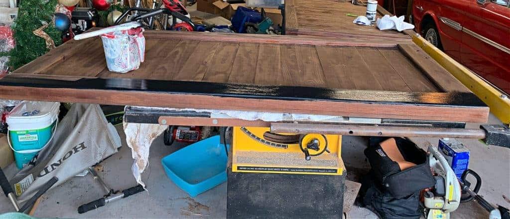 DIY Bed Frame Update