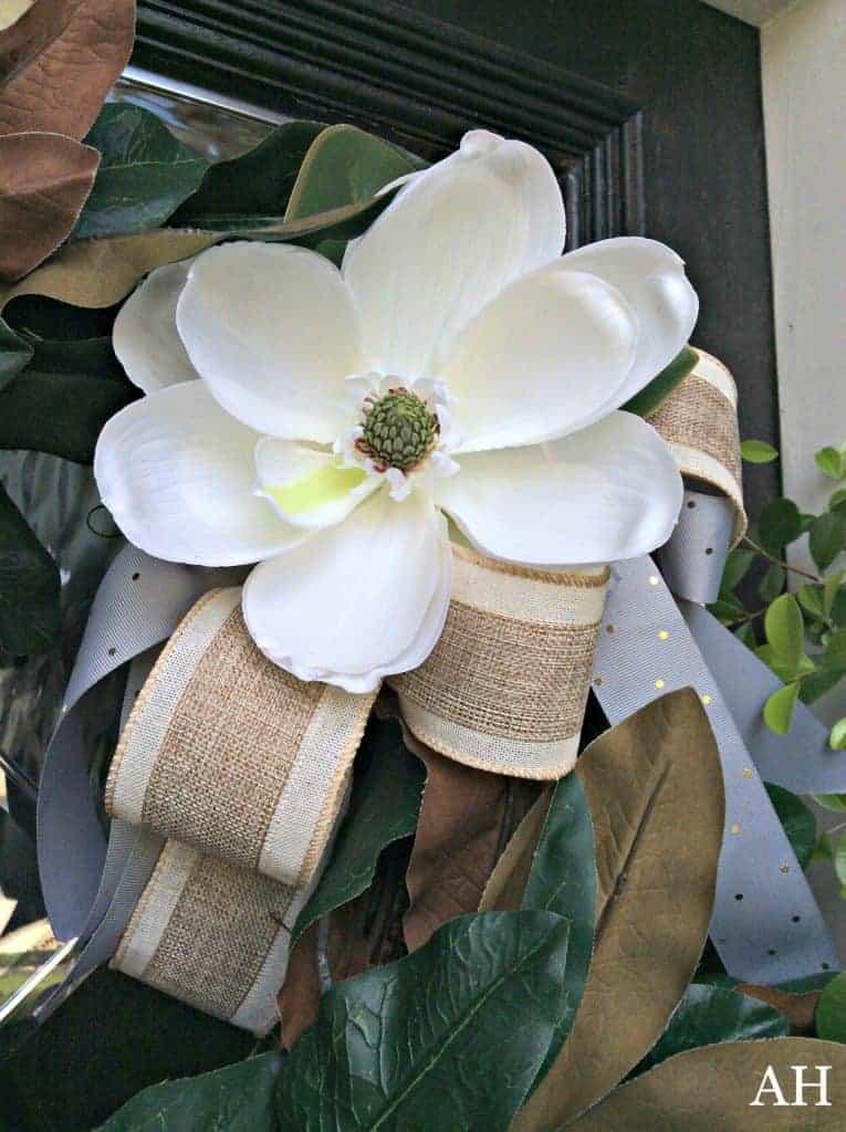 summer magnolia wreath
