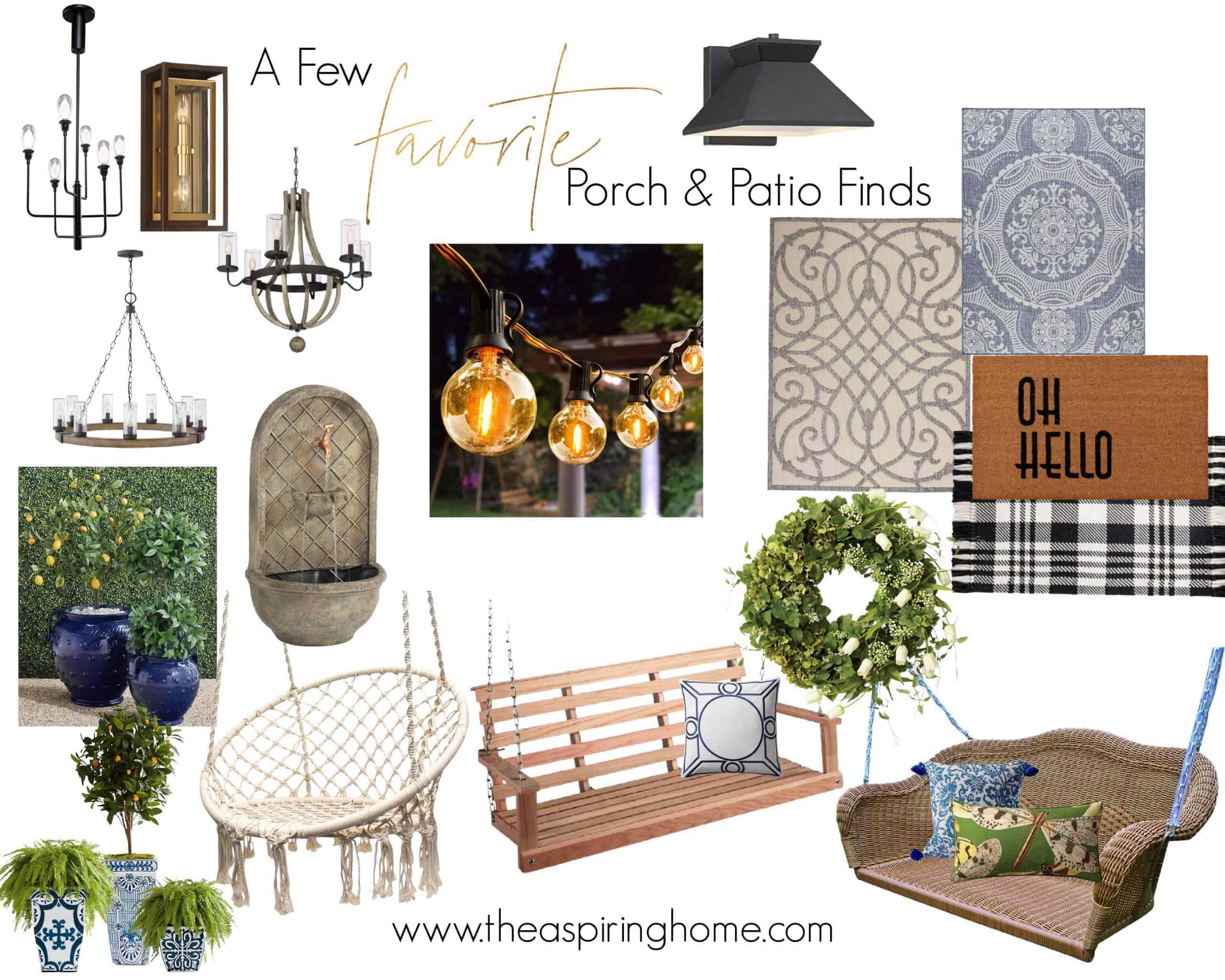 Summer Porch & Patio Refresh