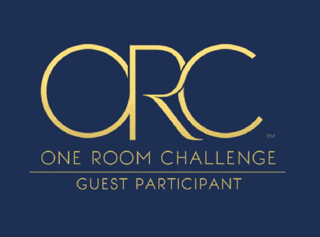 one room challenge logo laundry room makeover